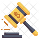 Auction Law Hammer Icon