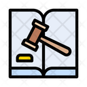 Auction Book Gavel Icon