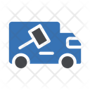 Truck Auction Delivery Icon