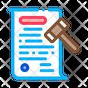 Auction Document Icon
