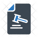 Auction File Court Icon