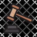Auction Gavel Law Icon