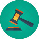 Auction Hammer Lawyer Icon