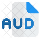 Aud File Audio File Audio Format Icon
