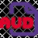 Aud File Icon
