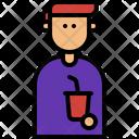 Soda Moviegoer Entertainment Icon