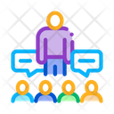 Lector Discuss Audience Icon