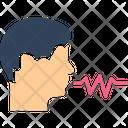 Audio Talking Voice Icon
