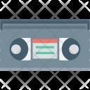 Audio Tape Cassette Icon