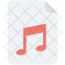 Audio File Music Icon