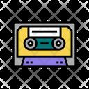Audio Casette Color Icon
