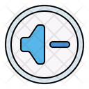 Audio Down Button Icon