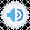 Audio Sound Button Icon