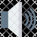 Audio Device Loudspeaker Icon