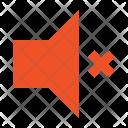 Audio Mute Sound Icon