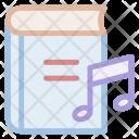 Audio Disc Literature Icon