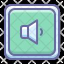 Audio On Sound Icon