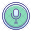 On Microphone Record Icon