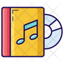Audio Book Cd Book Music Book Icon