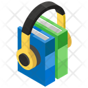Audio Book Ebook Online Education Icon