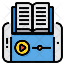 Audio Book Ebook Elearning Icon