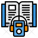 Audio Book Book Music Player Icon