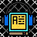 Book Earphone Education Icon