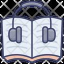 Audio Book Music Education Icon
