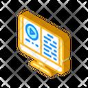 Audio Book Isometric Icon