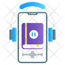 Audio Book Audio Guide Audio Journal Icon