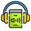 Audio Book Learn Multimedia Icon