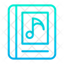Listening Book Music Book Audio Learning Icon