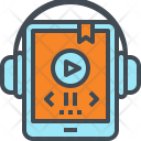 Audio Book Listen Icon
