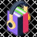 Ebooks Music Books Audio Books Icon