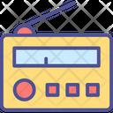 Audio Broadcasting Icon