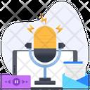 Episodic Series Digital Audio Audio Cast Icon