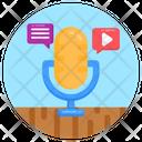 Audio Chat Icon