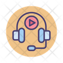 Audio Course Online Study E Learning Icon