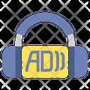 Audio Description Audio Headphone Icon