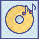 Audio Device Melody Turntable Icon