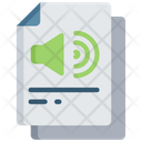 Audio Document Icon