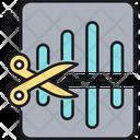 Audio Editing Icon