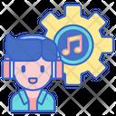 Audio Engineer Audio Prodcuers Singer Icon