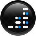 Media Audio Equalizer Icon
