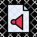 Sound File Audio Icon