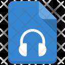 Audio File Handset Icon