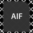 Audio Interchange File Format File Document Icon