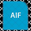 Audio Interchange File Format Extension File Icon