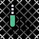 Audio Jack Cable Icon