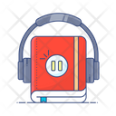 Audio Learning Audiobook Audio Lesson Icon